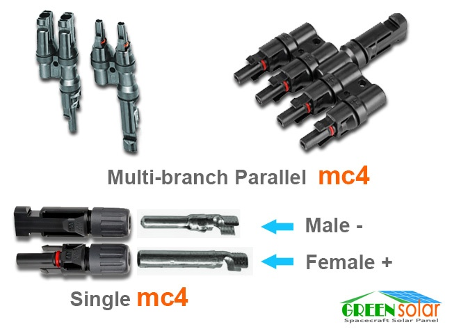 mc4 multi branch connector