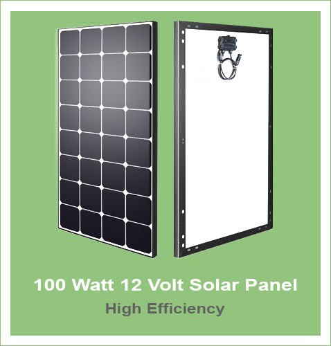 Charge 12v battery with solar panel   Green Solar